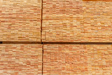 Fototapeta Las -  stockage de lamelles de bois  © Unclesam
