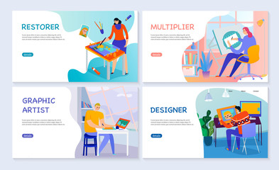 Creative Professions Banners