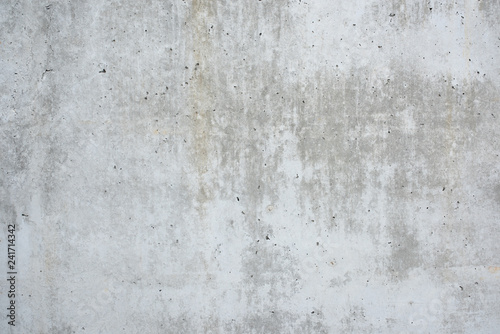 Poster Gray concrete wall for background