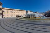 Palazzo Ducale, Piazza de Ferrari with fountain, Genoa, Liguria, Italy, Europe