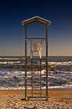 Rescue station for lifeguards, Senigallia, Italy - 241752514