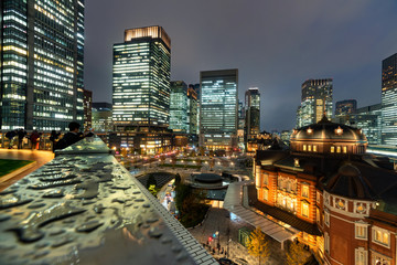 Tokyo station view point from Kitte tower © candymanphotomania