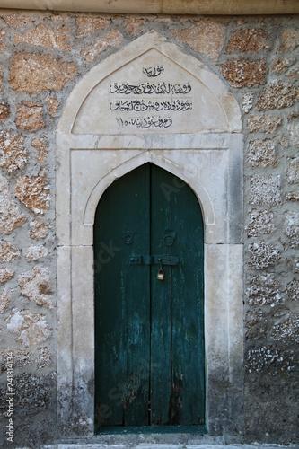 Ottoman style door