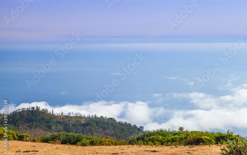 Coastal landscape of Madeira Island