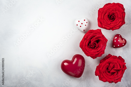 Festive concept for Valentines day.