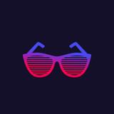 shutter sunglasses vector - 241834948