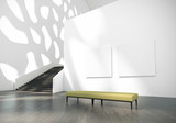 Modern art gallery building - 241845715