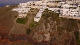The small village Imerovigli on Santorini Island - 241853945