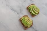 healthy avocado bread