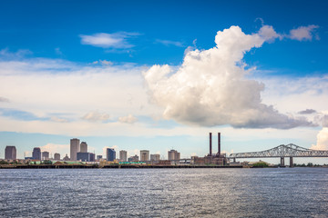 New Orleans, Louisiana, USA downtown city skyline on the Mississippi River © SeanPavonePhoto