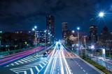 交通 東京 夜