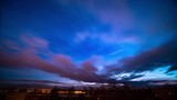 The sky at dawn, sunrise early morning, time lapse - 241883117