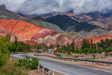 road in mountains, Jujuy, Argentina - 241883760