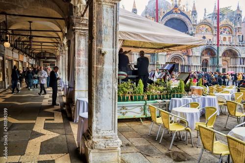 obraz PCV Venedig, Markusplatz