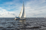 Sailing on the Neuse River - 241910564