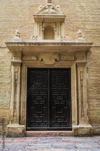 Arhitektur Tür alte Kirche