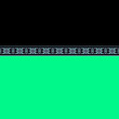 Leinwandbild Motiv Seamless ornamental decor border line simple color pattern