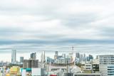 city skyline view in shibuya, tokyo, Japan