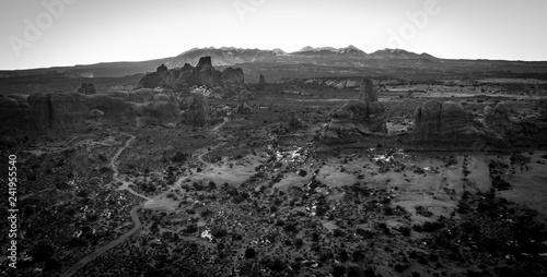 mata magnetyczna Arches National Park
