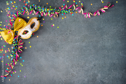 Colorful birthday or carnival background - 241964794