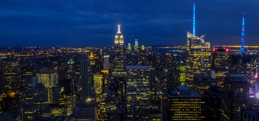 new york city at night © Victor