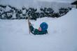 canvas print picture - Neuschnee in den Alpen