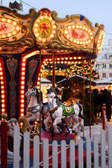 Merry-go-Round at Christmas Market