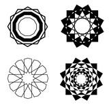 eastern motifs pattern - 241987361