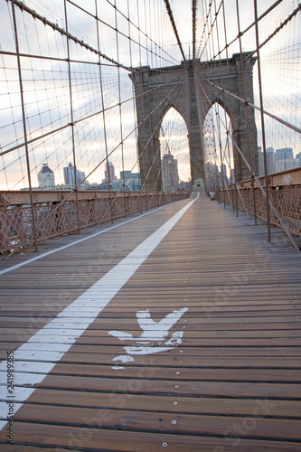 obraz PCV Brooklyn Bridge