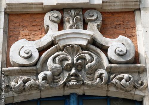 Ville de Lille, département du Nord, France