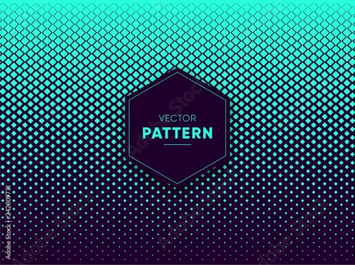 Blue vector halftone for backgrounds and designs - 242009731