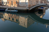 panorama of the city of Venice, particular glimpse of the old city.