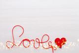 Valentine greeting card. - 242027730