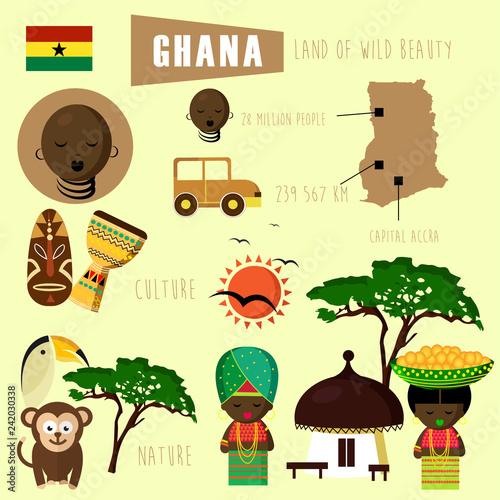 obraz lub plakat Ghana Africa