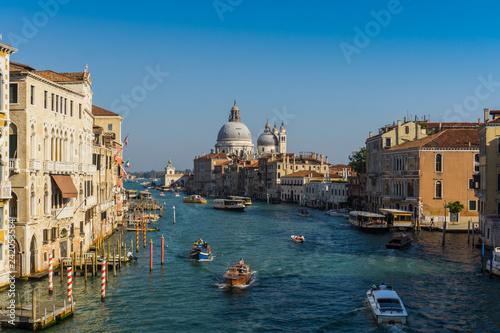 Grand canal in Venice - 242053584