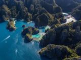 Beautful island formation in coron palawan