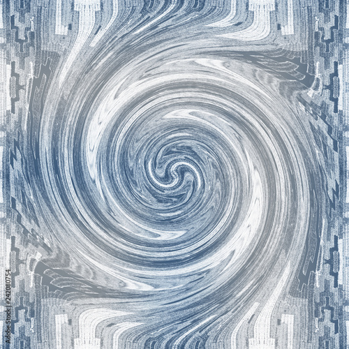 .Abstract figure, blurred spiral - 242080754