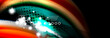 Color flow poster. Wave Liquid shape color background. Art design for your design - 242089956