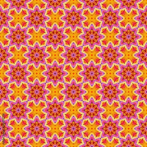 Abstract beautiful pattern for design. Can be used as fabric, template - 242097706