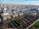 Fototapeta Fototapety Paryż - vue aérienne de Paris depuis un ballon © Francois