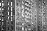Old bricks building facade, Manhattan, New York City, USA