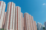 High rise residential building in Hong Kong city - 242125184