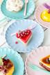 canvas print picture - Leckere kleine Kuchen