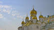 Famous travel spot architecture church in the the Kremlin, Moscow Russia