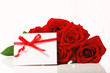 Valentine's Day concept theme with red roses