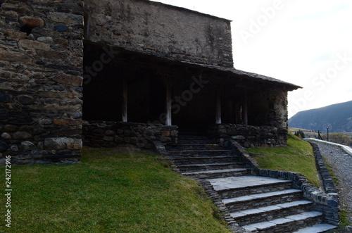 Foto Murales escalera de piedras