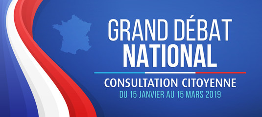 Grand débat national - Consultation citoyenne