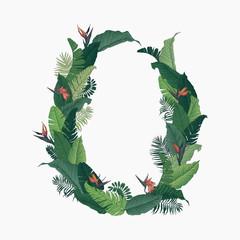 Tropical Wreath Circle