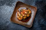 shrimp in garlic ginger sauce
