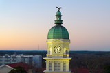 View on Athens, GA city hall and downtown - 242223300